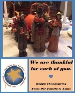 Home Care Mansfield OH - Happy Thanksgiving
